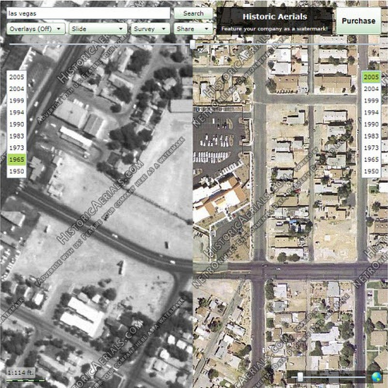 View And Compare Historic Aerial Photographs For Over 80 Years Online