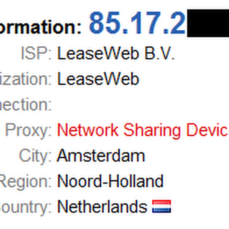 Free Netherlands Based VPN Service