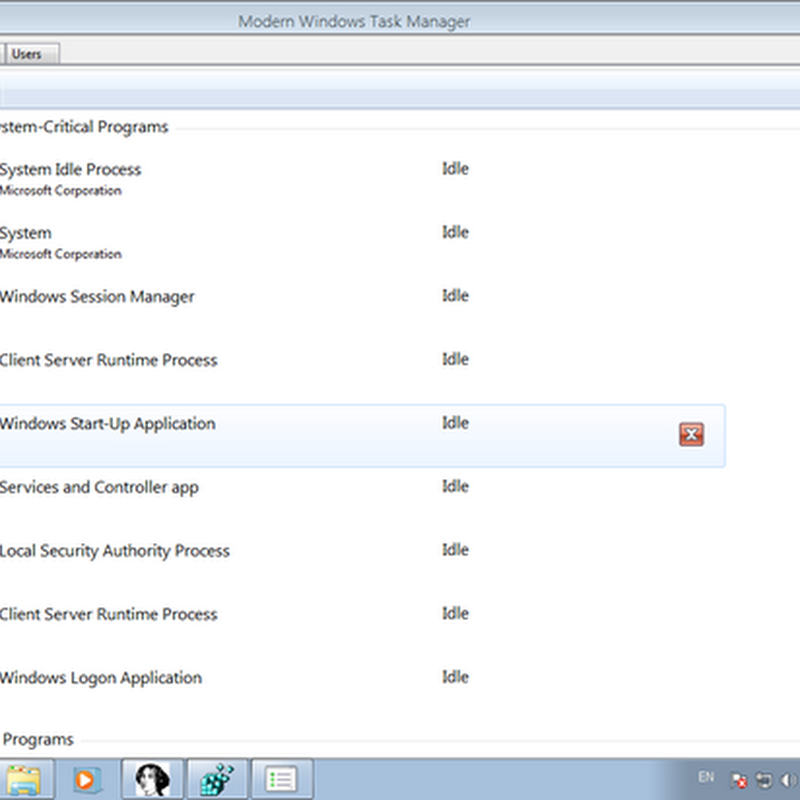 Windows 8 New Task Manager Revealed