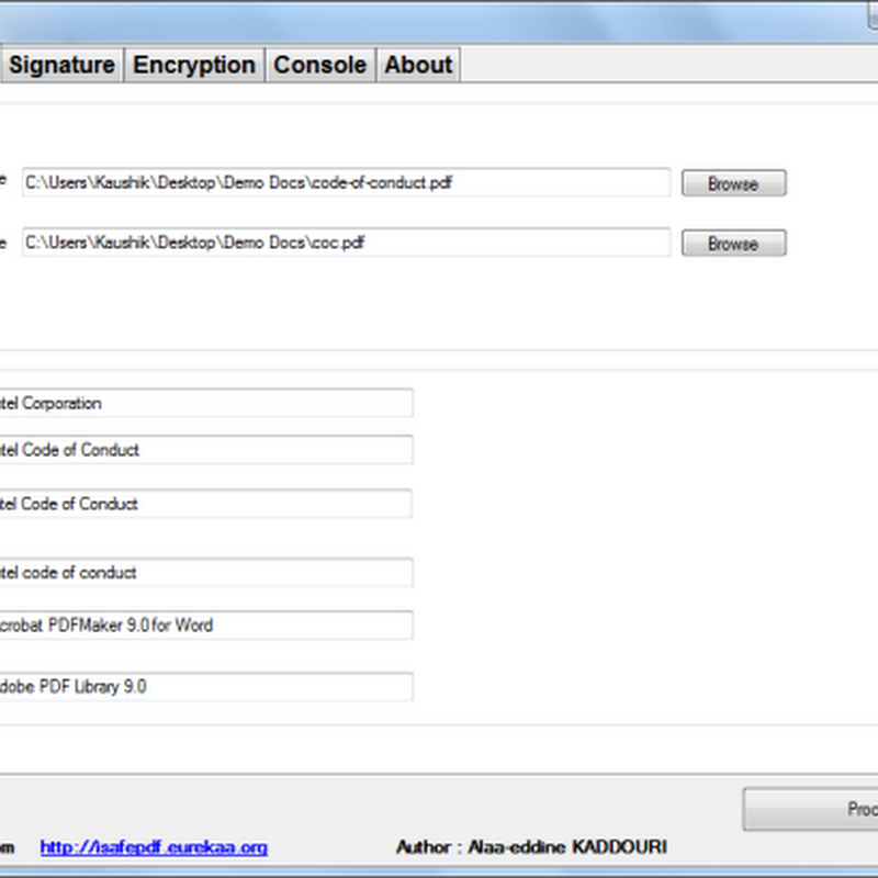 iSafePDF: Encrypt, Digitally Sign PDF Documents