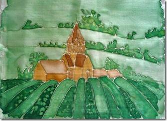 Silk paint