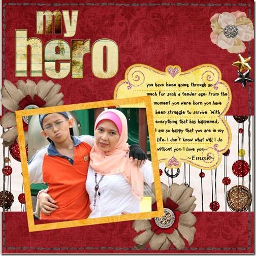 my hero web