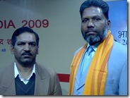 श्याम माथुर के साथ सिने पत्रकारिता पुस्तक पर प्रथम पुरस्कार से सम्मानित