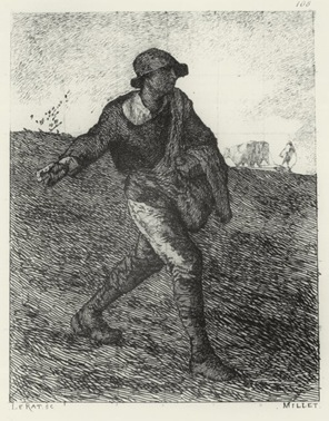 Jean-François Millet - The Sower