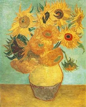 Still Life: Vase with Twelve Sunflowers