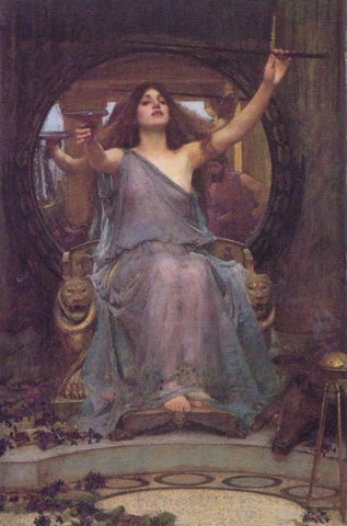 Circe Offering the Cup to Ulysses
