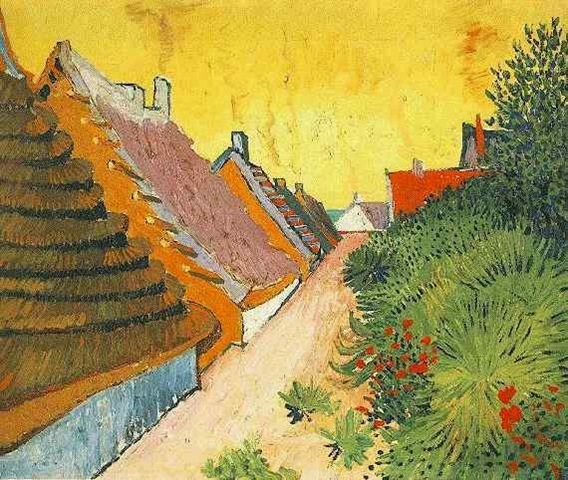 Street in Saintes-Maries