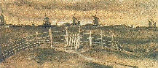 Windmills near Dordrecht