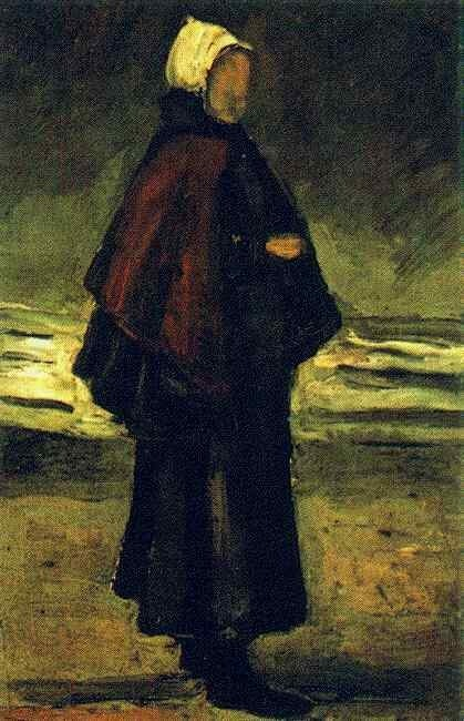 Fisherman's Wife on the Beach