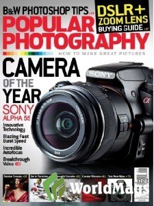 Popular Phtography 2011 Cover