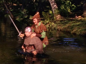 Adventures of Robin Hood - Crossing the river