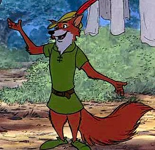Fox as Robin Hood