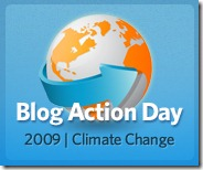 15 de outubro, dia do Blog Action Day 2009 - Mudança Climática