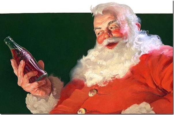 O Papai Noel como conhecemos hoje é uma criação do designer Haddon Sundblom para a Coca-Cola.