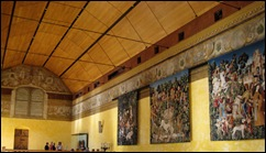 Tapestries Hanging in Chapel Royal
