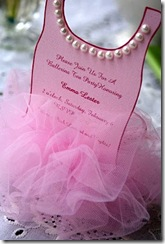 Ballerina Invitation 013