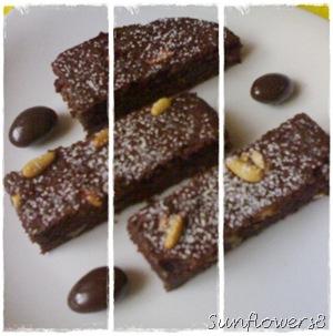 Torta paesana di pane al cacao 3