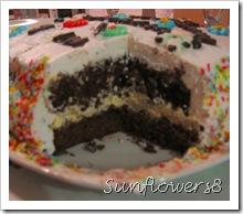 Interno torta compleanno Giorgia