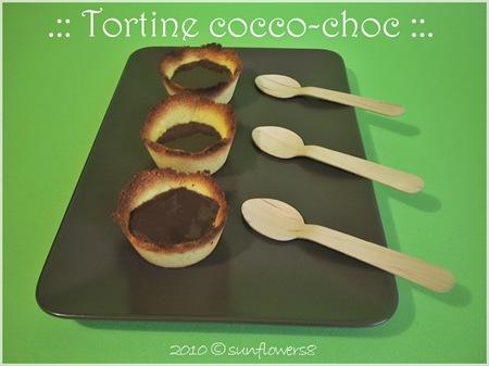 Tortine cocco choc B