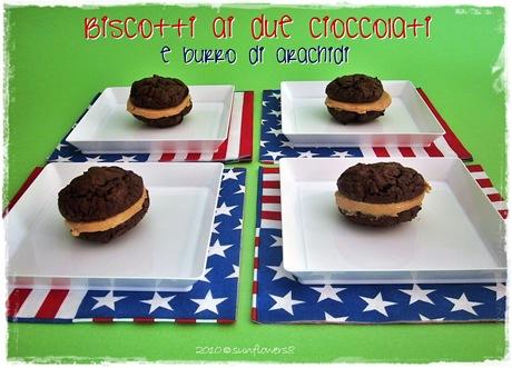 Biscotti ai due cioccolati