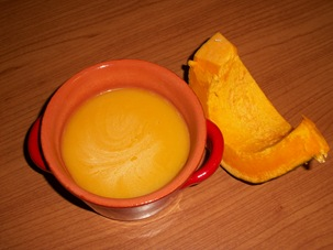 Zuppa di zucca 1 foto
