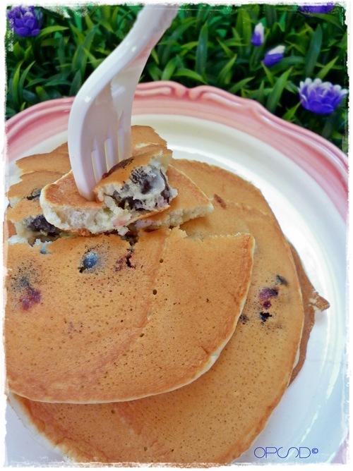 Pancake e amarene