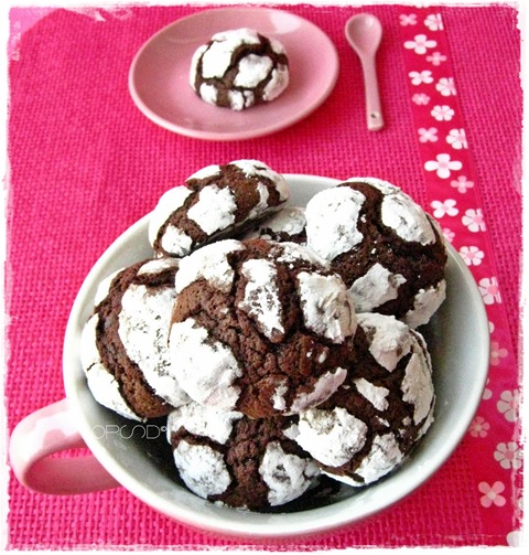Chocolate coffee crinkle 2