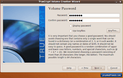 TrueCrypt Volume Password