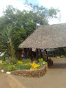 Elegant thatch roof at  Blue Posts Hotel Thika