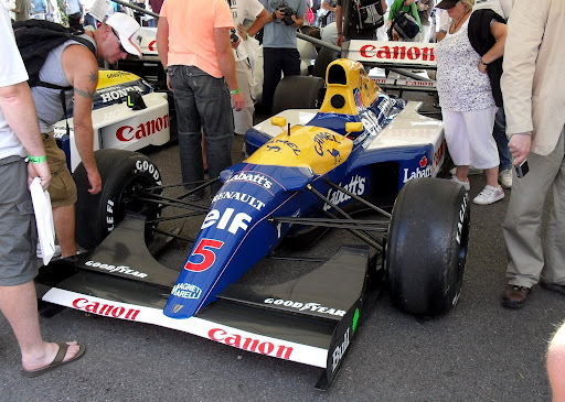 williams renault fw14b. 1992 Williams-Renault FW14B F1