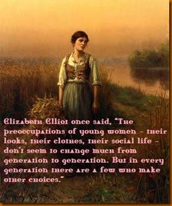 Maiden in field