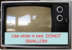 TV as contraceptive