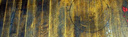 Color Week - Yellow Wednesday - wood floor