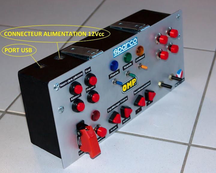 pcshm playseats cockpits et simulateurs home made boite boutons multifonctions pcshm. Black Bedroom Furniture Sets. Home Design Ideas