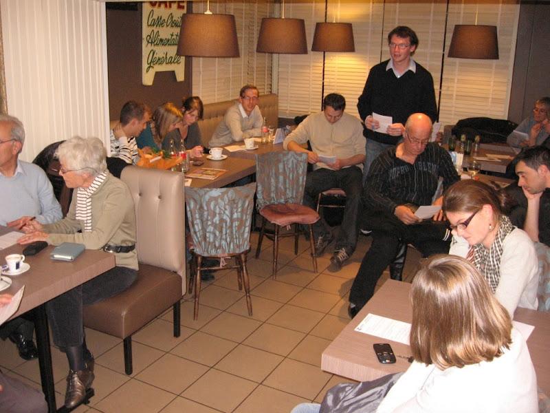 Café démocrate Caen Association GENEPI