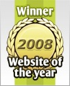 Web site of the year 2008