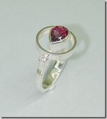 Silver-Tourmaline-ring