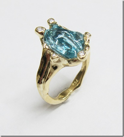 Carved-Aquamarine-Ring