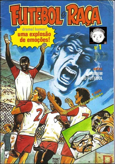 001-Capa de Futebol e Raça N°1