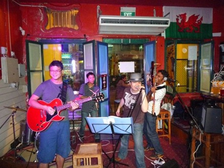 Music: Chicken Shack Revival (Singapore Live Band)