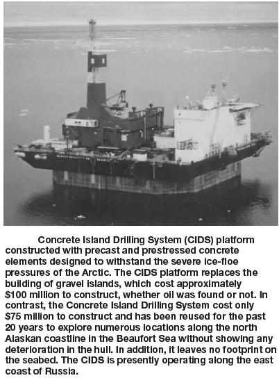 Floating ocean platforms