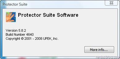 preotector suite software version 5.8.2