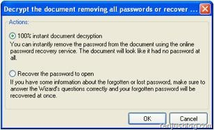 decrypt excel file or remove password