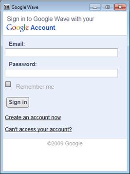 Google-Wave-Desktop-application