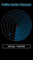 Screenshot of Police Radar Scanner