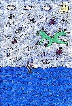 O dragón e os xoguetes máxicos, de Alba