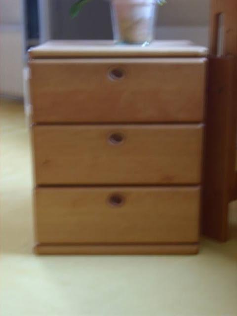 team 7 container schreibtisch 3 schubladen erle ge lt ebay. Black Bedroom Furniture Sets. Home Design Ideas