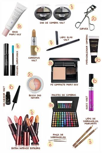 Como montar seu kit de maquiagem?