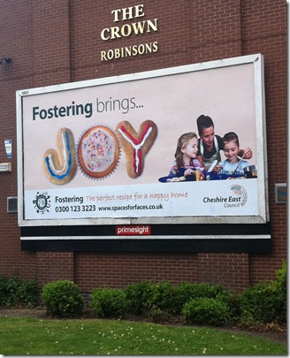 Fostering Fortnight Poster