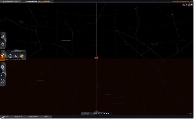 sistema solar panoramico